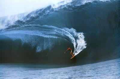 Teahupoo Surfing Big Wave