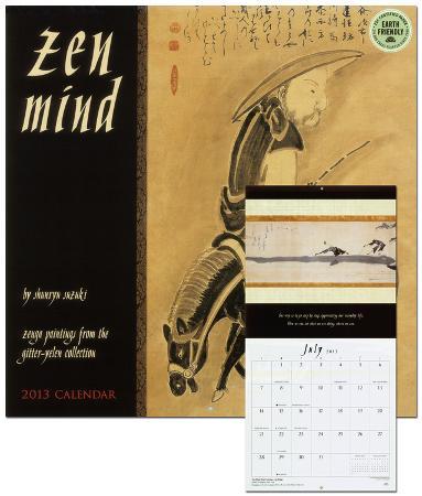 Zen Mind - 2013 Calendar