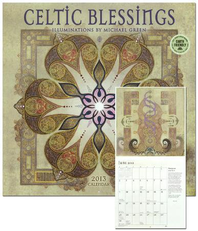 Celtic Blessings - 2013 Calendar