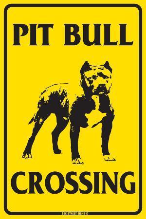 Pit Bull Crossing
