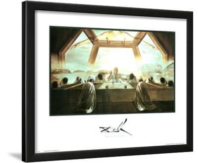 Salvador Dali The Last Supper Art Print Poster