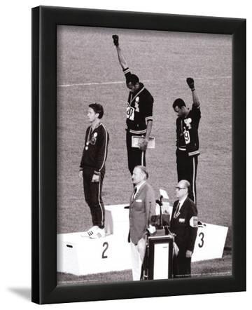 Black Power (Tommie Smith & John Carlos, Olympics, 1968) Photo Print Poster