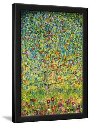 Gustav Klimt Apple Tree Art Print Poster