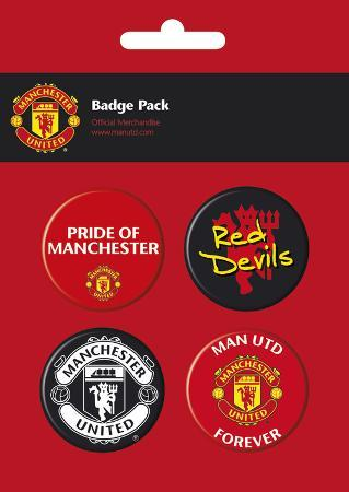 Manchester United Badge Pack