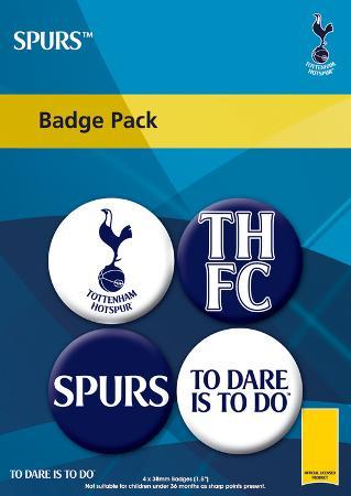 Tottenham Hotspur Badge Pack