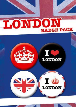 London Badge Pack
