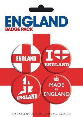 England Badge Pack