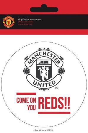 Manchester United - Come On Vinyl Sticker