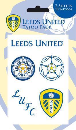 Leeds United Temporary Tattoos