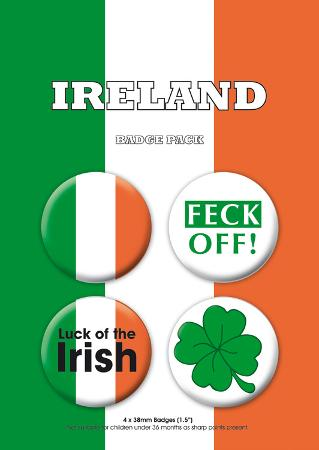 Ireland Badge Pack