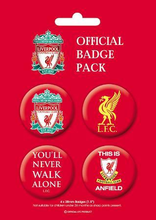 Liverpool Badge Pack