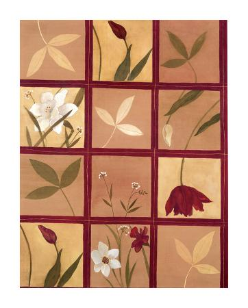 Windowpane Floral I