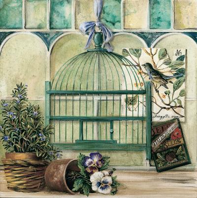 Cage A Oiseaux Provencale Verte