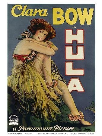 Clara Bow Hula, Paramount Picture c.1927