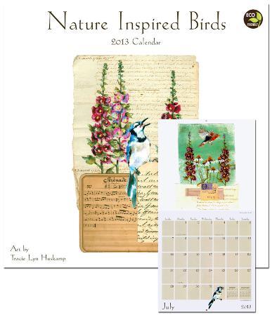 Nature Inspired Birds - 2013 Calendar