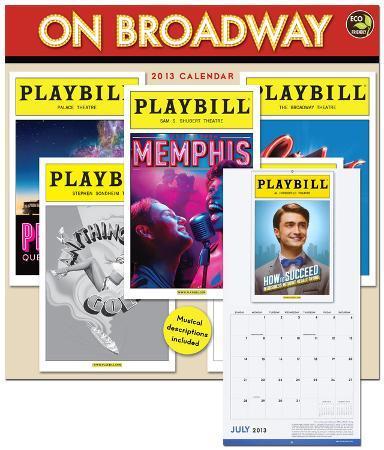 On Broadway - 2013 Calendar