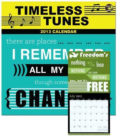 Timeless Tunes - 2013 Calendar