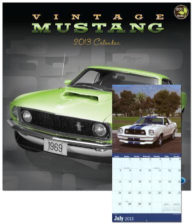 Vintage Mustangs - 2013 Calendar