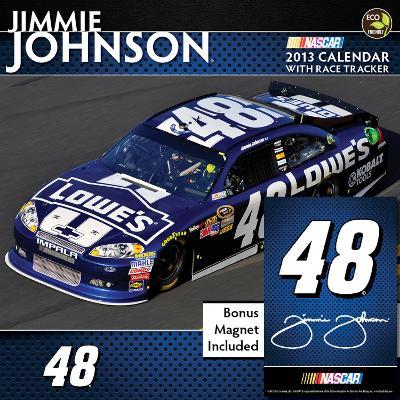 Jimmie Johnson - 2013 Deluxe Calendar