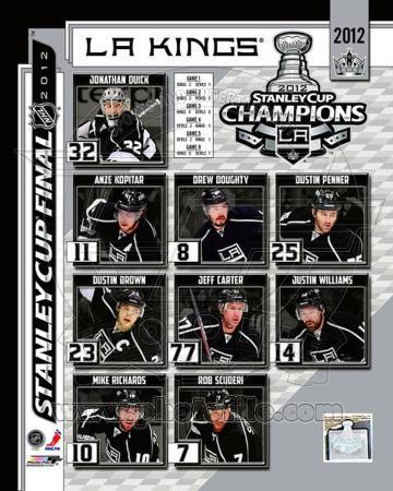 Los Angeles Kings 2012 NHL Stanley Cup Champions Composite