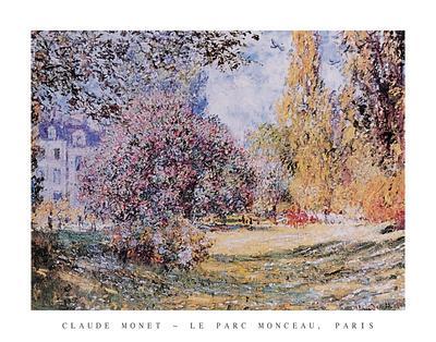 Le Parc Monceau Paris
