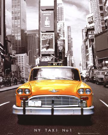 Times Square - NY Taxi No 1