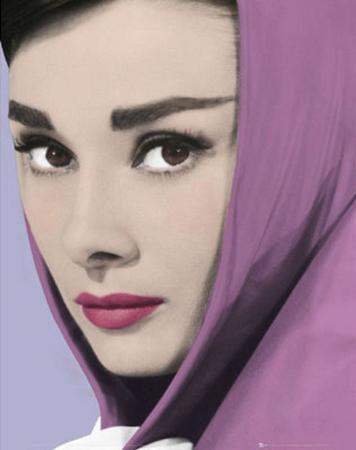 Audrey Hepburn - Shawl