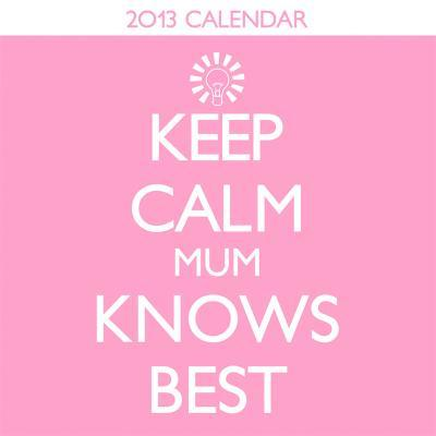 Keep Calm - 2013 Mini Calendar