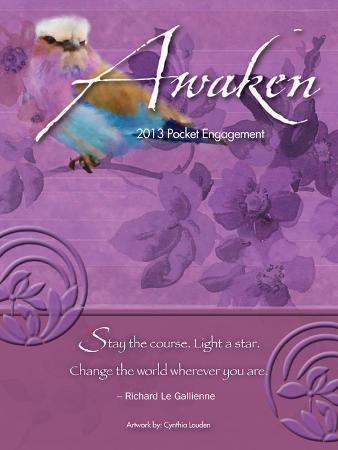 Awaken - 2013 Pocket Engagement Calendar