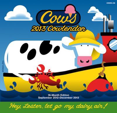 Cows - 2013 Calendar