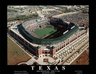 Texas Rangers - First Opening Day Game, April 11, 1994