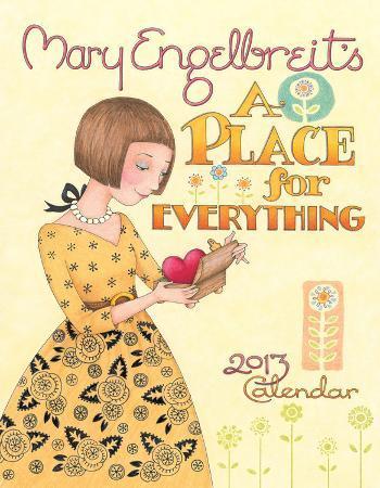Mary Engelbreit - 2013 Weekly Planner Calendar