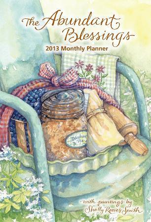 The Abundant Blessings - 2013 Large Monthly Planner Calendar