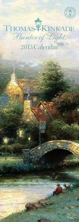 Thomas Kinkade Painter of Light - 2013 Slim Calendar