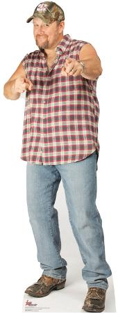 Larry the Cable Guy Pointing