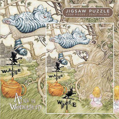 Alice in Wonderland Cheshire Cat 1000 Piece Jigsaw Puzzle