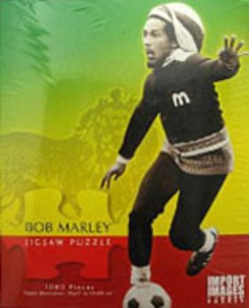 Bob Marley Soccer Football 1000 Piece Jigsaw Puzzle