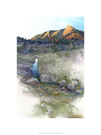 Flatirons Sunrise - Boulder, Co.