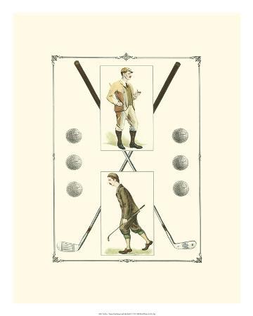 Golfers: H. Hutchinson & John Ball