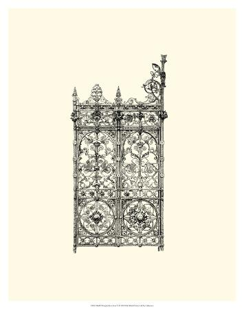 B&W Wrought Iron Gate V