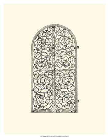 B&W Wrought Iron Gate VI
