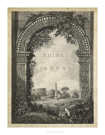 Ruines de Rome