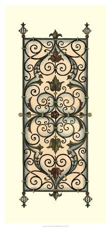 Printed Wrought Iron Panels I
