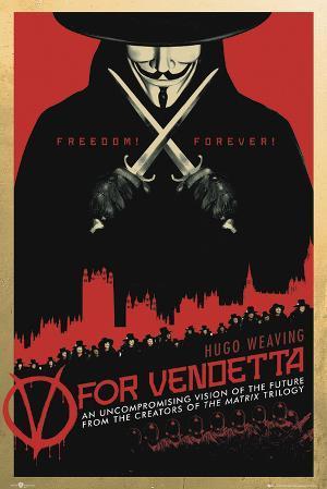 V for Vendetta-One Sheet