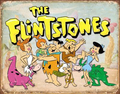 Flintstones Family Retro