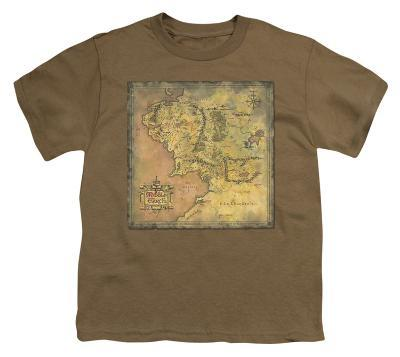 Youth: Lord of the Rings - Middle Earth Map