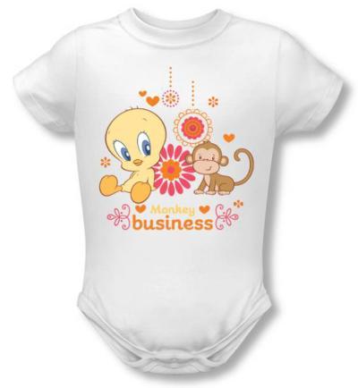 Infant: Baby Tweety - Monkey Business