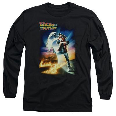 Long Sleeve: Back to the Future - BTTF Poster