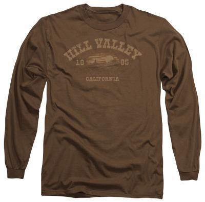 Long Sleeve: Back to the Future - Hill Valley 1855