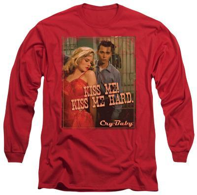 Long Sleeve: Cry Baby - Kiss Me!